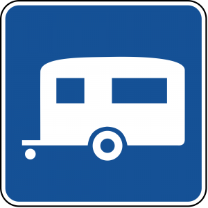 D9-3a Trailer Camping Guide Sign