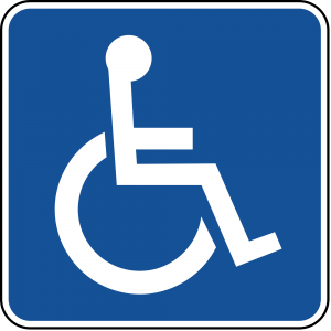 D9-6 Handicapped Accessible Guide Sign