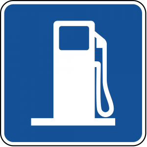 D9-7 Gas Guide Sign