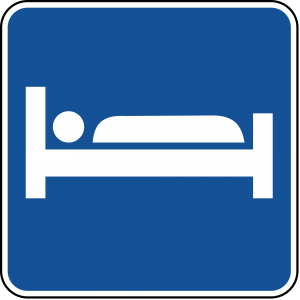 D9-9 Lodging Guide Sign