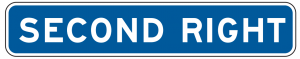 E2-2 Guide Sign