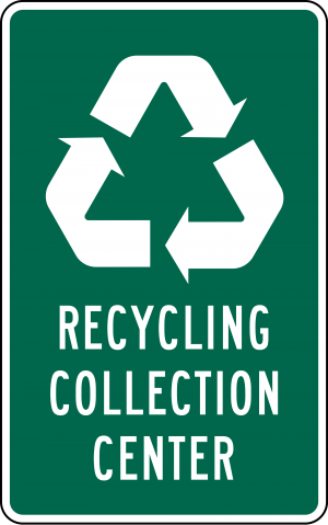 I-11 Recycling Guide Sign