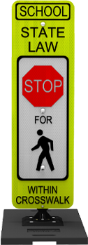 MUTCD In-Street Pedestrian Crosswalk Signs