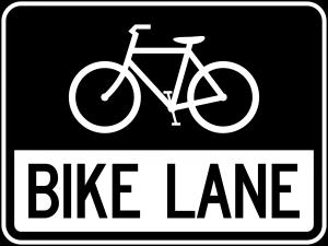 R3-17 Bike Lane Regulatory Sign