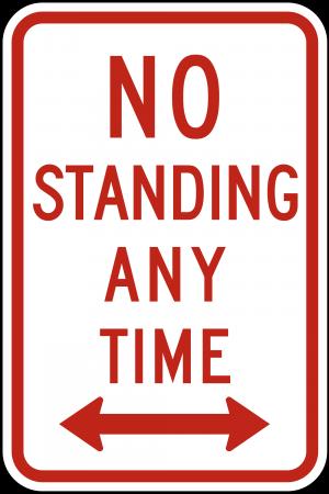 R7-4 No Parking Regulatory Sign