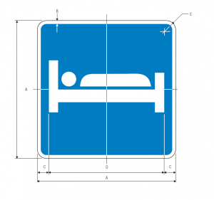 D9-9 Lodging Guide Sign Spec