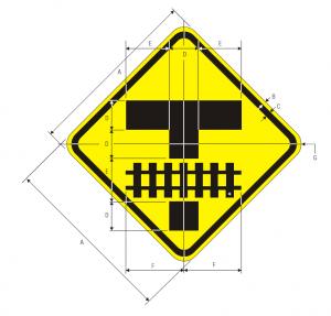 W10-11 Storage Space Symbol Warning Sign Spec