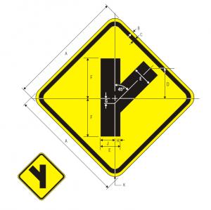 W2-3L Warning Sign Spec