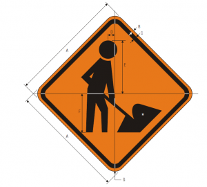 W21-1a Workers Warning Sign Spec