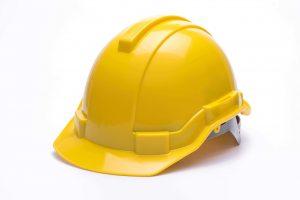 Yellow HDPE Hard Hat Apparel